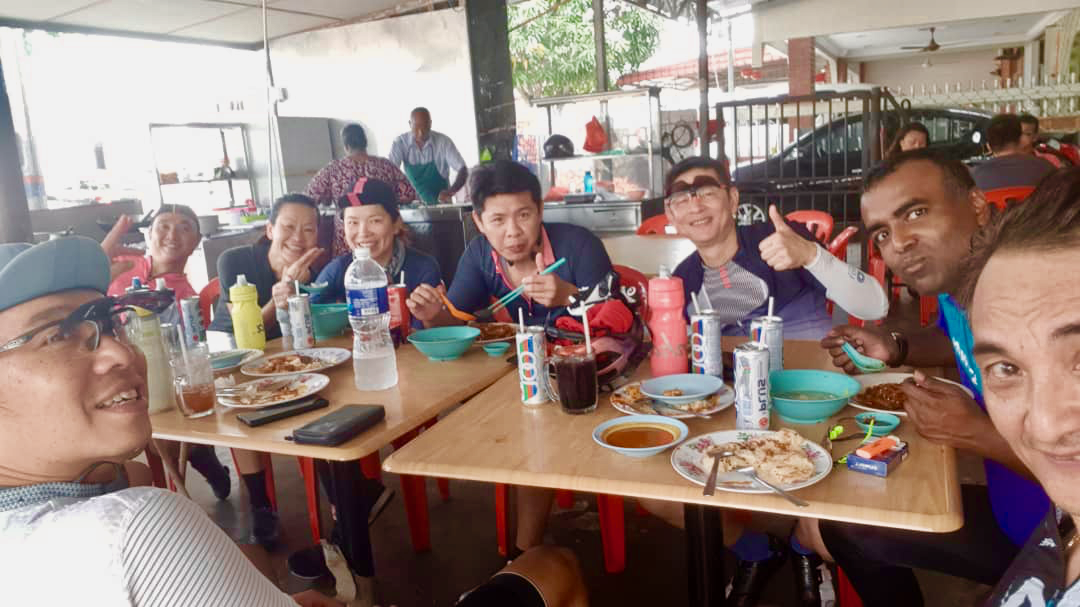 Tanjung Sepat Breakast Alfred Chan