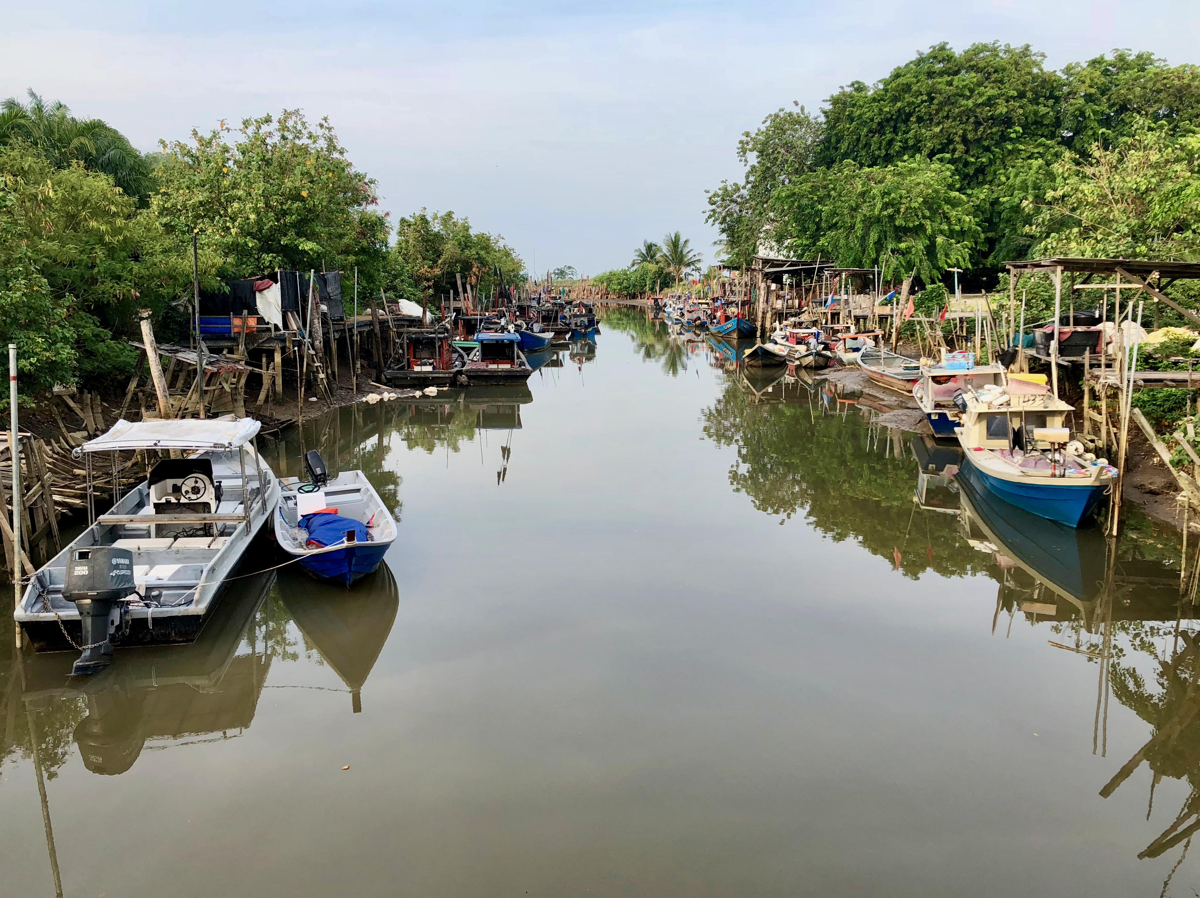 Tanjung Sepat Fishing Boats