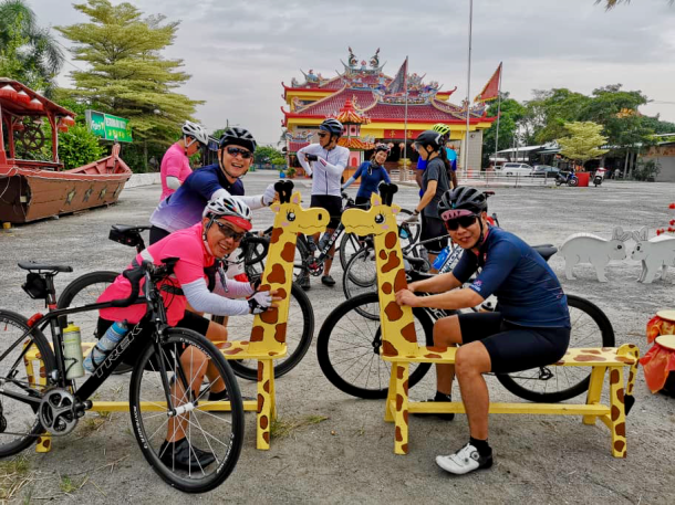 Tanjung Sepat Giraffes Mark Lim