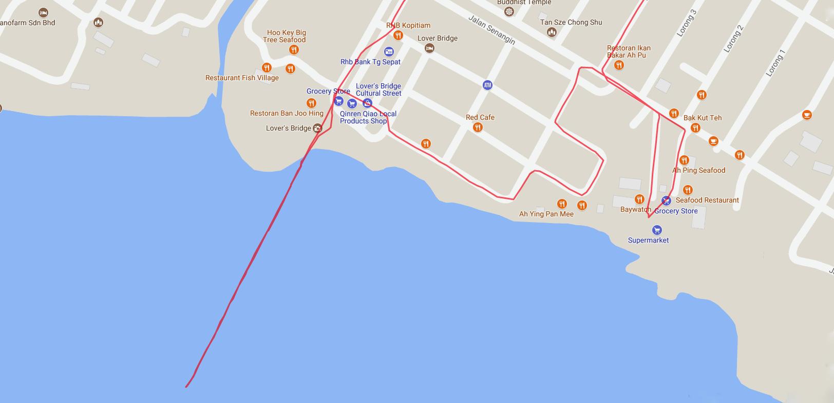 Tanjung Sepat Pier