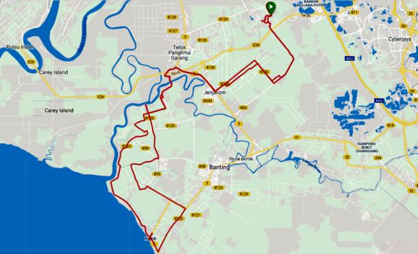 Morib Route